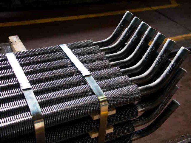 High frequency welded finned pipes